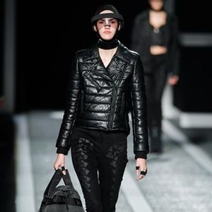ALEXANDER WANG H&M LEATHER BIKER JACKET